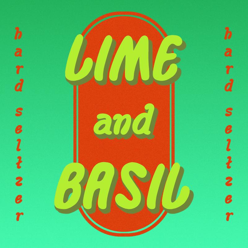Lime & Basil Hard Seltzer