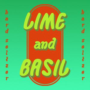 Lime and Basil HardSeltzer