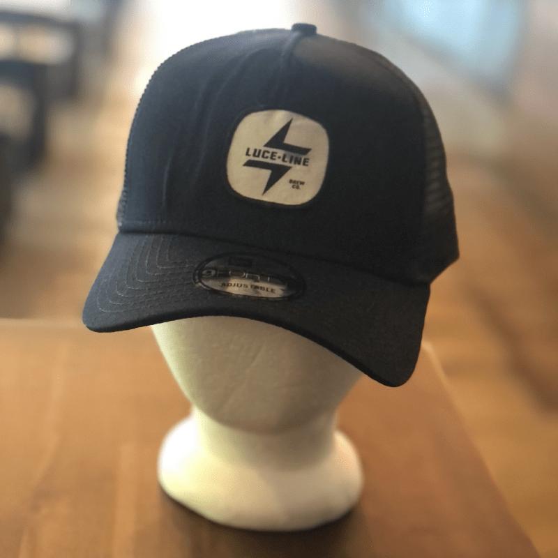Navy Hat w/ Patch