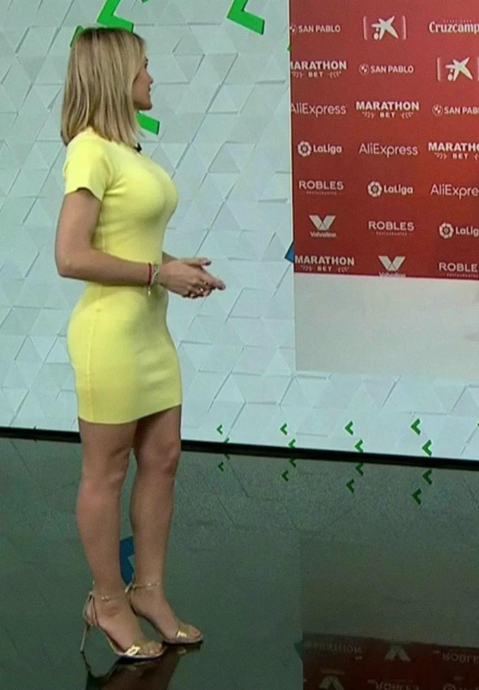 Angie Rigueiro: escotes al desnudo en Antena 3 Noticias | Tetas de escándalo