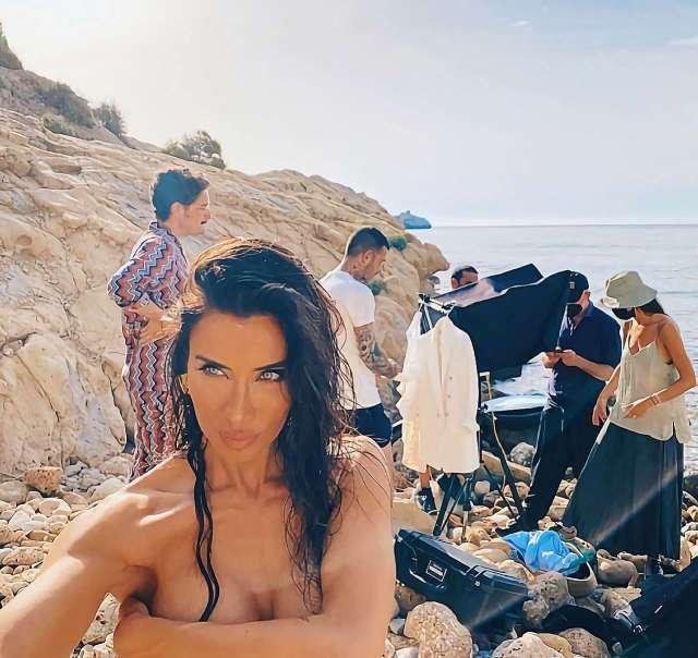 Pilar Rubio se desnuda para LucenPop