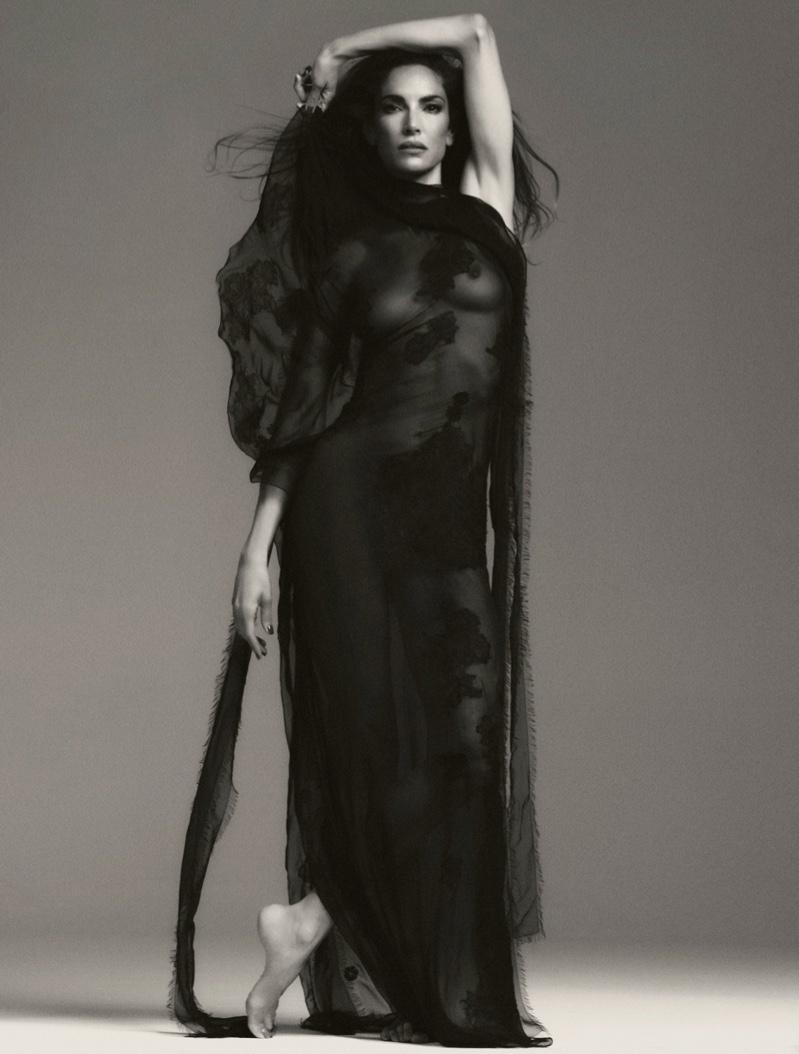 Eugenia Silva al desnudo