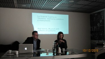 Patrizia Marchesoni insieme a Blaz Vurnik