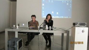 Patrizia Marchesoni insieme a Patrizia Cacciani