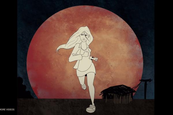 Outrun the moon video