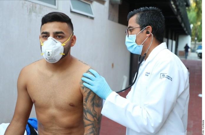 Exámenes médicos Alexis Vega Chivas