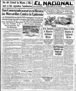 Evocan Influenza Espanola De 1918 Estilo De Vida