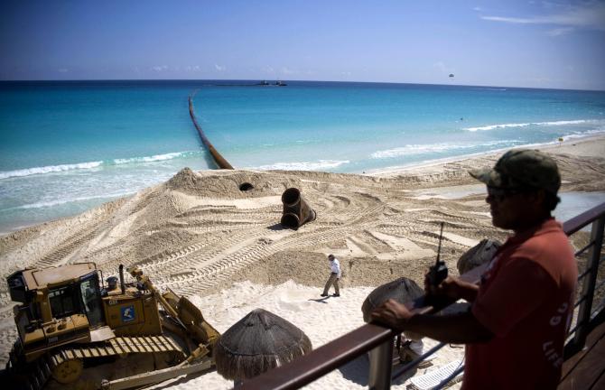 Robo de Arena Cancún