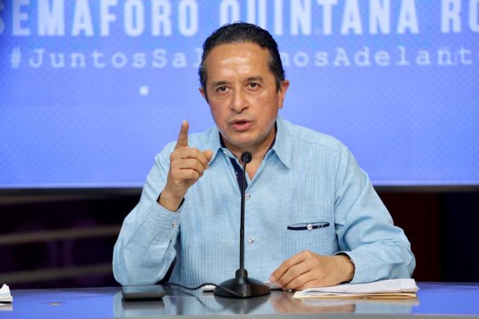 Se deslinda Carlos Joaquín de bloque conspirador