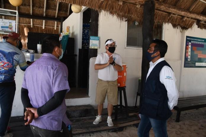 Chankanaab y Punta Sur, con supervisión sanitaria