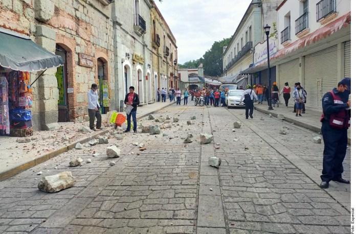 Deja un muerto y afectaciones sismo en Oaxaca1
