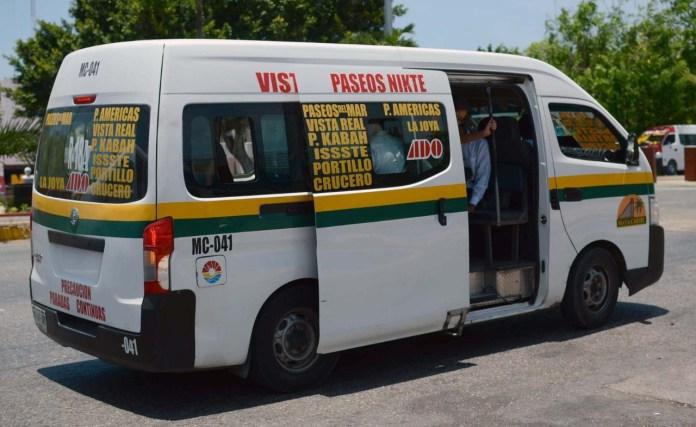 Multa Imoveqroo por sobrecupo en transporte público