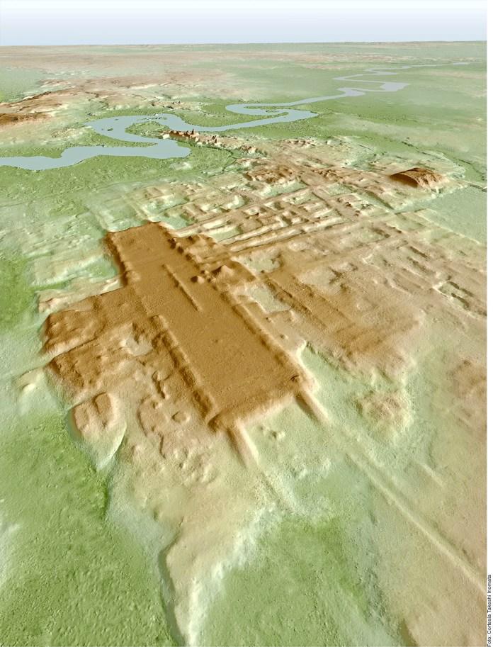 Piden proteger zona arqueológica Aguada Fénix de Tren May
