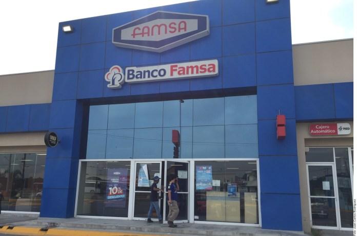 Recibirán clientes de Banco Famsa cheques en su domicilio