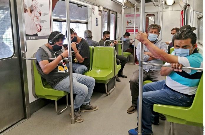 Derrapa transporte público en CDMX por Covid