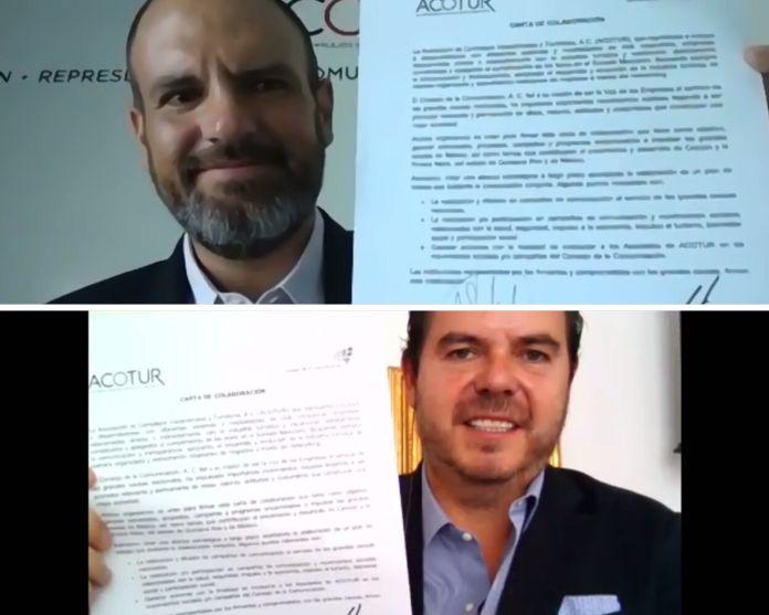 Firman convenio con el Consejo de la Comunicación