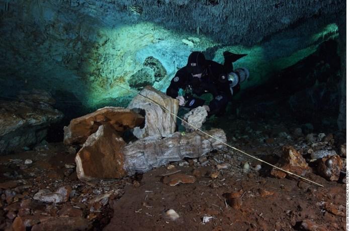 ALT_Hallan en Quintana Roo mina de ocre más antigua de América