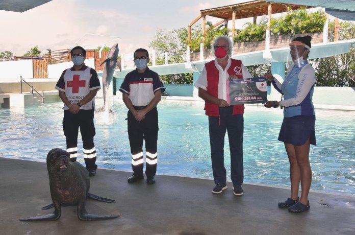 Recibe la Cruz Roja un valioso donativo
