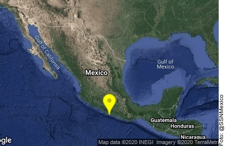 Tiembla en Guerrero, se percibe en CDMX