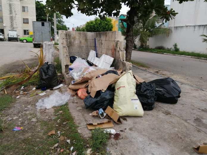 Exige CCE a Mara solución inmediata a recoja de basura en Cancún