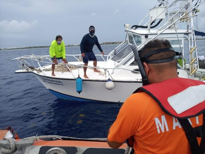Realiza Marina rescate en aguas de Cozumel