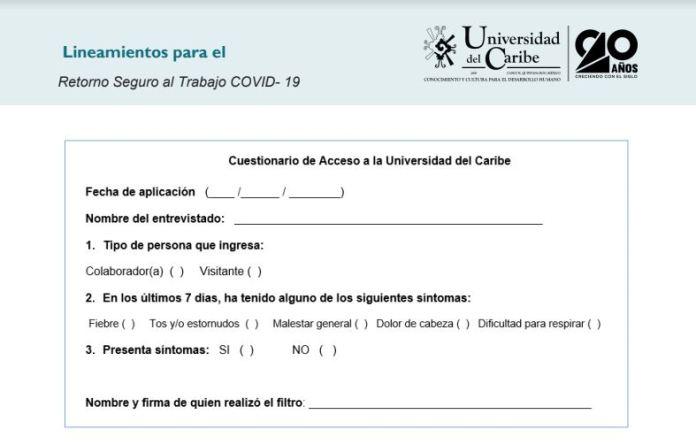 Unicaribe, lista para el retorno seguro a clases