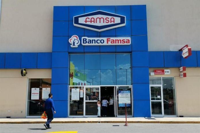 Liquida a empleados Banco Ahorro Famsa