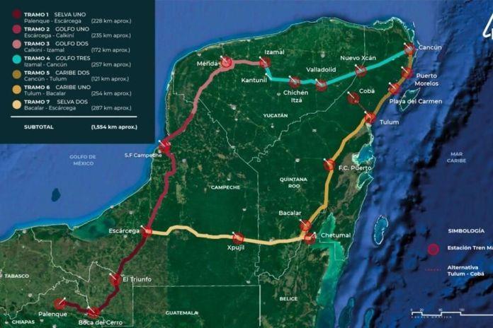 Aplazan fallo del tramo 5 del Tren Maya