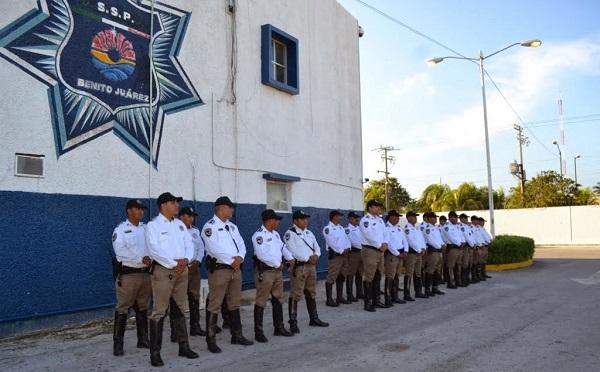 Inicia SSP Q. Roo una limpia en policía Tránsito de B.J.
