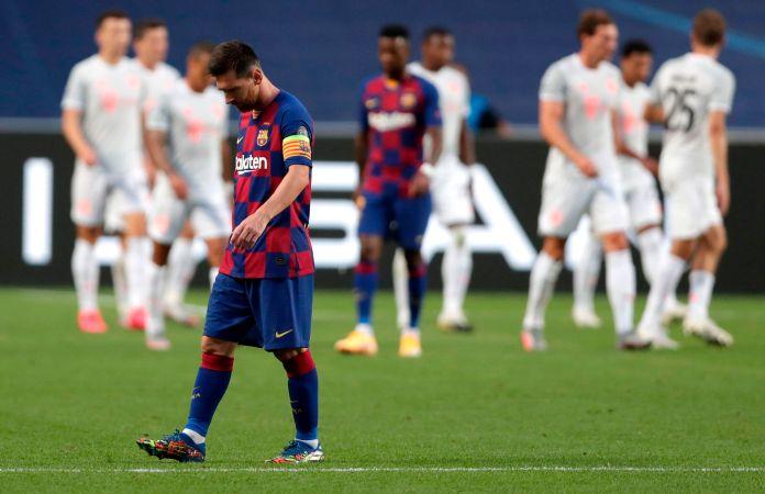 Avisa Messi su salida del Barcelona