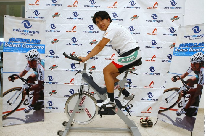 Nunca dejaré la bici: Belem Guerrero