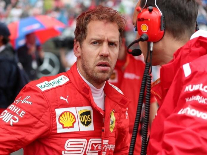 Ferrari 'borra' a Sebastian Vettel