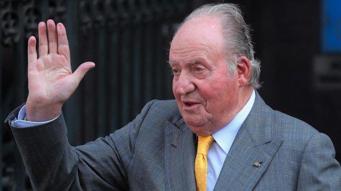 Abandona España el rey emérito Juan Carlos I