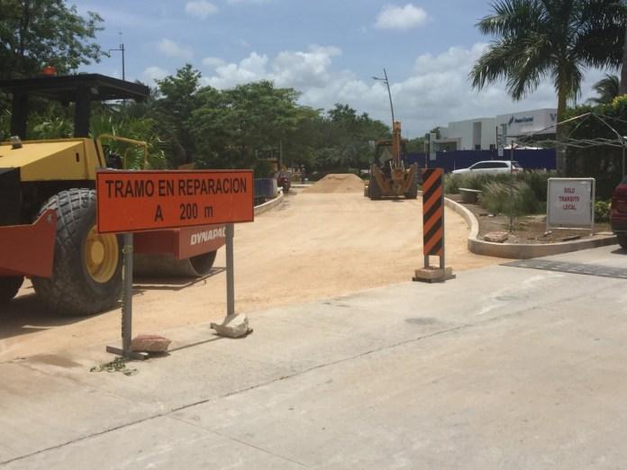 Puerto Cancún, un abuso más con la obra en el Bulevar Kukulcán