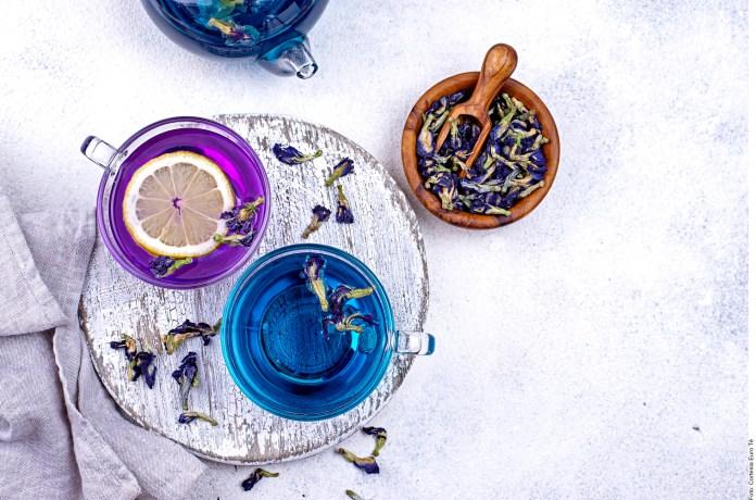 Tisana azul