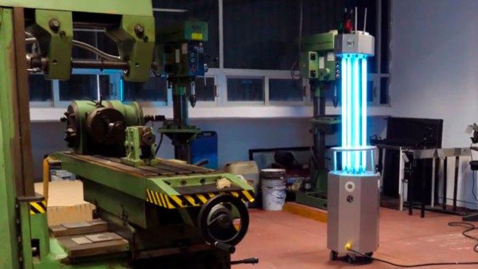 Presenta la UT Cancún máquina desinfectante