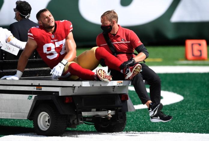 Encienden 49ers las alarmas; pierden a titulares