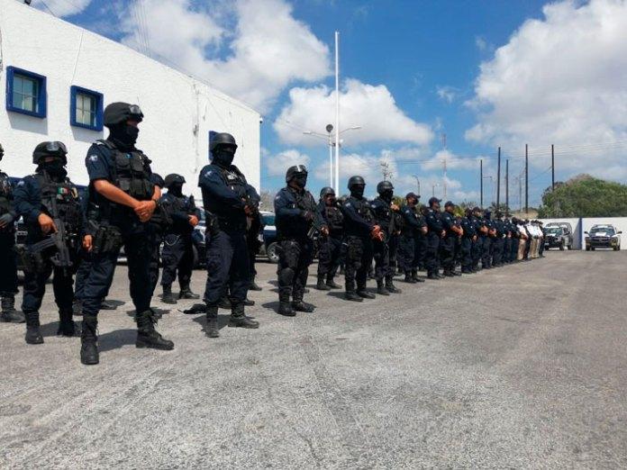Son estados del Sureste 'seguros' para policías