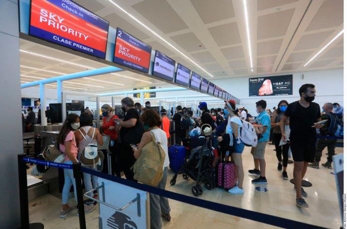 Toma impulso el tráfico aéreo en Cancún