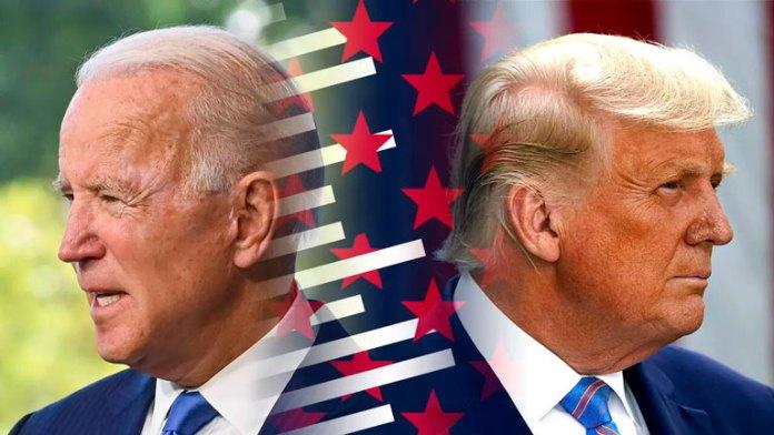 Centran campaña Biden y Trump en estados clave