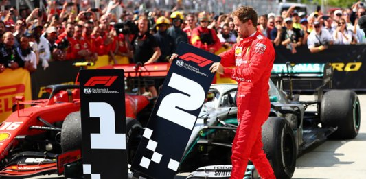 Asume Vettel la culpa en Ferrari