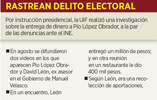 Turnan a INE video de Pío López Obrador