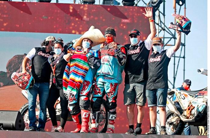Cumple mexicano sueño en el Rally Dakar