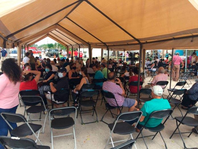 Sobran vacunas en Leona Vicario; las aplican a cancunenses