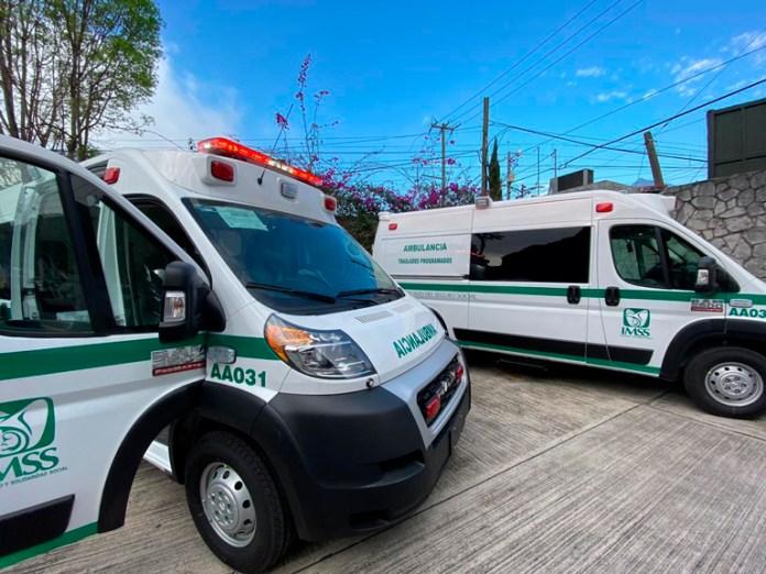 El IMSS logró más de 34 millones de pesos en ahorros y consiguió varias mejoras en el servicio que se usa para el traslado de pacientes.