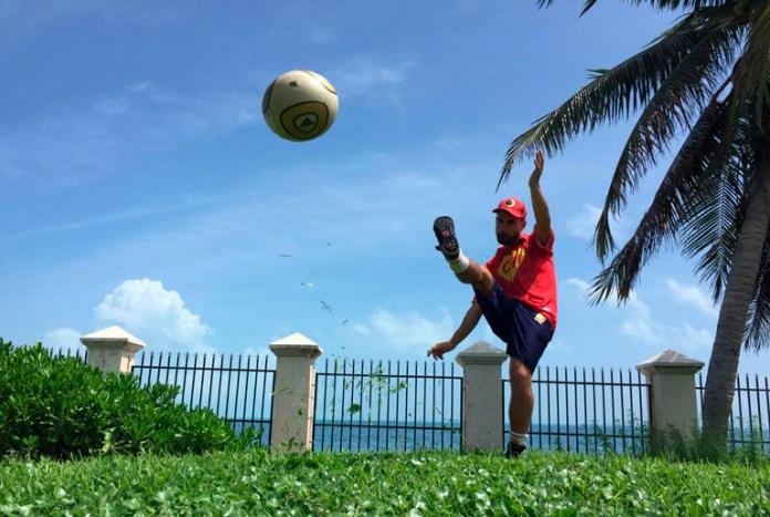 Suma Liga de Estatal de FootGolf a bicampeón del Cancún Open