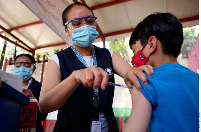 Baja cobertura de vacunación infantil