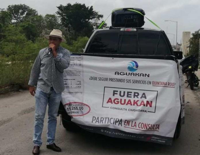 Avala Ieqroo consulta para sacar a Aguakan