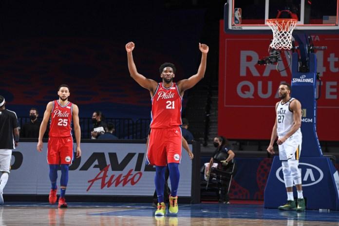 Marcan 76ers y Jazz el ritmo en la NBA