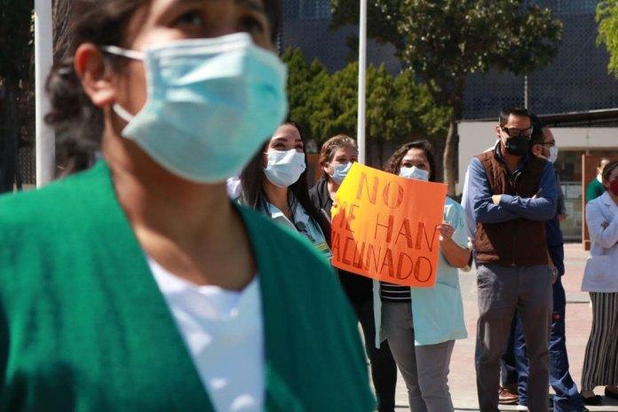 Hará Colegio Médico marchas para exigir vacunas contra Covid